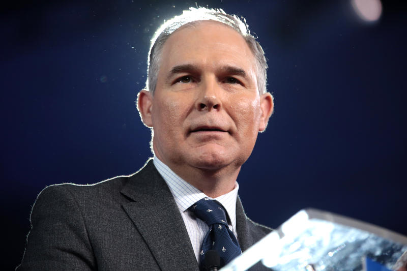 Scott Pruitt, administrator of the U.S. Environmental Protection Agency