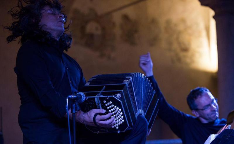 Giampaolo Bandini (guitar) & Cesare Chiacchiaretta (bandoneon)