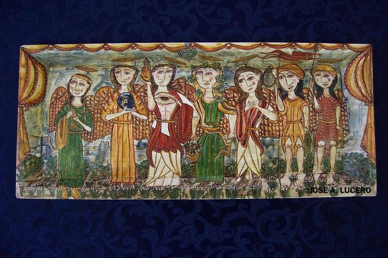 Seven Archangels by José A. Lucero
