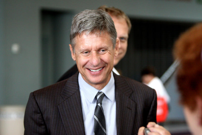 Gary Johnson at Conservative Political Action Conference in Florida