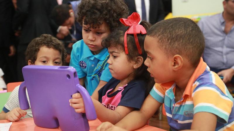 Infantes reciben educación temprana