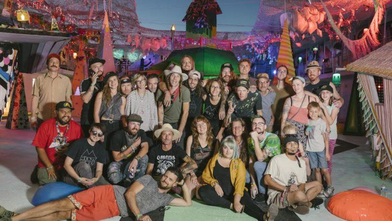 Part of Meow Wolf's team of artists