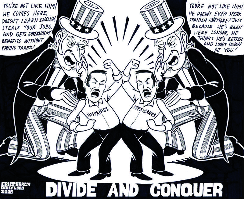 """""""Divide and Conquer"""" by Eric J. García"""