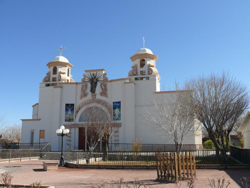 Our Lady of Health Catholic Church in Las Cruces