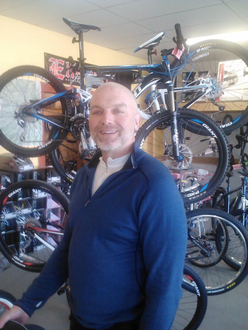 Doug Picket at Taos Cyclery