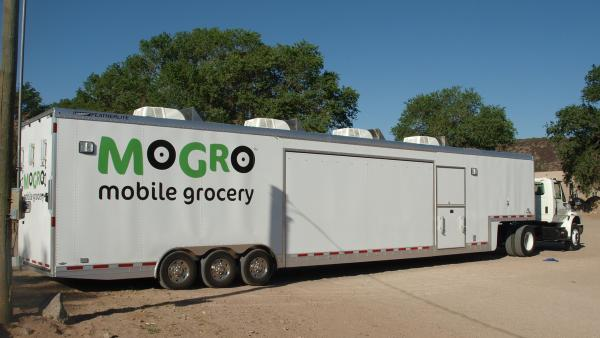 The Mobile Grocery unit promotes access to fresh food at rural Pueblos in New Mexico.