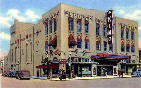 Artwork of the Kimo Theatre