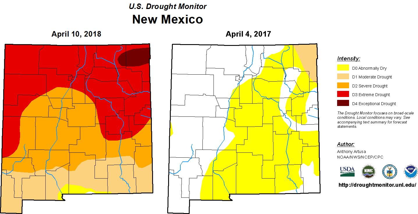 Wildfire Season And Drought Pressure People, Wildlife   KUNM