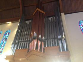 Housed at Trinity Episcopal Church, this massive pipe organ is the largest in Northern Nevada.