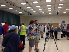 Several dozens of residents attended the Regional Transportation Commission's open house Thursday to give their input on the best ways to expand senior and disabled transportation services in the region.