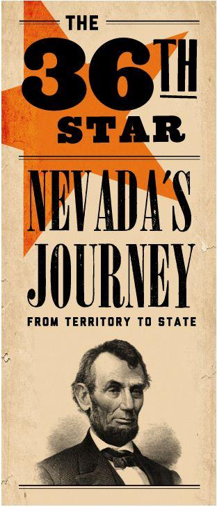 36th Star: Nevada's Journey from Territory to State
