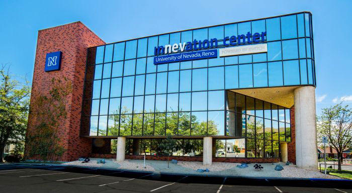 The University of Nevada, Reno has opened its new Innevation Center on the north edge of downtown Reno.