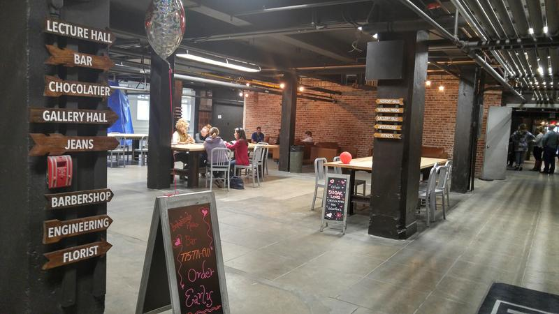 The Basement features more than half a dozen local businesses with more businesses opening soon.