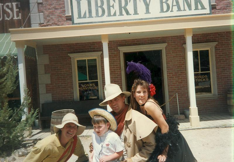 His love for the Wild West comes from an early age.
