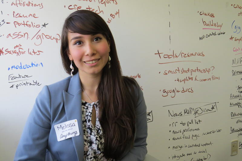 UNR student Melissa Perez Rios, 21, plans to own a gym and restaurant in the future.