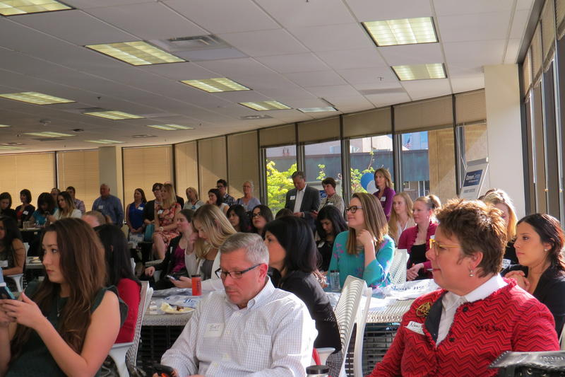 "All seats were filled at ""A Night for Women in Business and Entrepreneurship."""