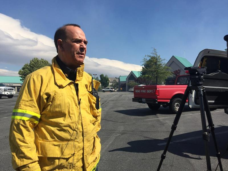 Fire Chief Charles Moore of the Truckee Meadows Fire Protection District.