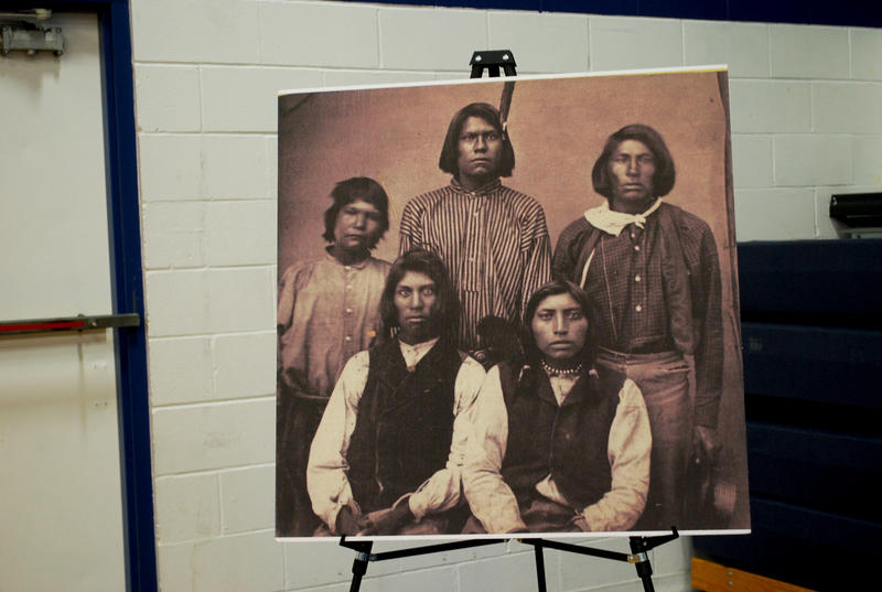 The Reno-Sparks Indian Colony's archivist maintains a collection of documents from the colony's past, including family photos and important texts