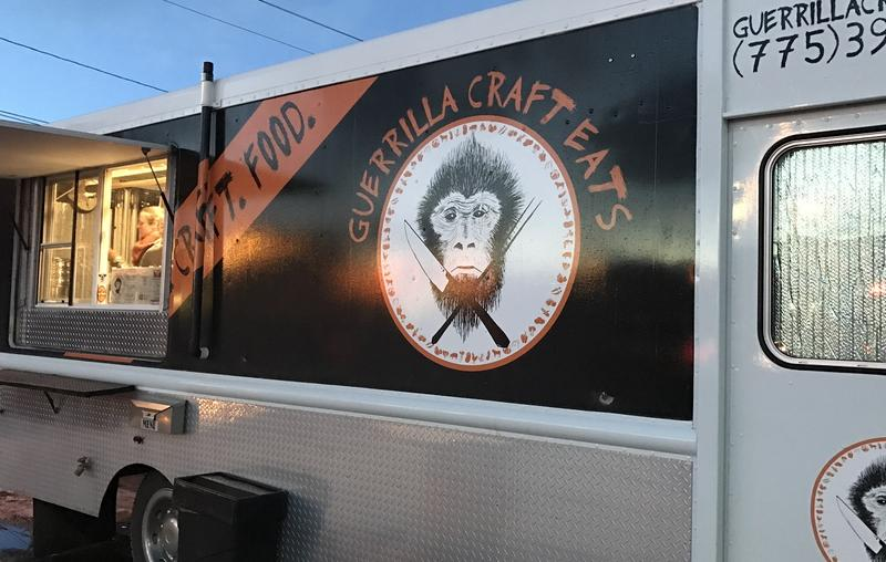 The Guerrilla Craft Eats truck cost Andrea and Ryan Oeschger approximately $100,000 to open.