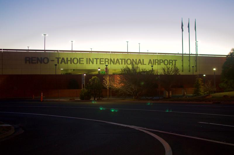 The Reno-Tahoe International Airport.