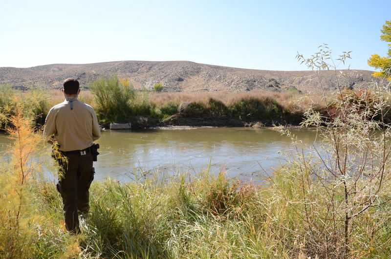 Park Supervisor Randy Denter gives a preview of what visitors can expect at the Walker River State Recreation Area.