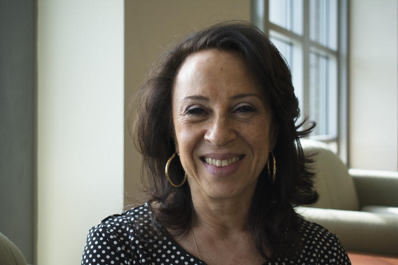 Journalist Maria Hinojosa, host and managing editor of the NPR program Latino USA.