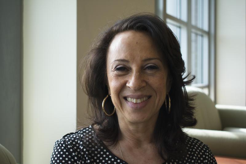 Periodista Maria Hinojosa del programa Latino USA de NPR.