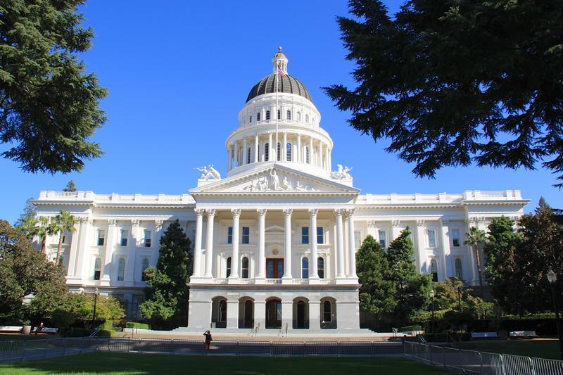 California's Capitol Building in Sacramento