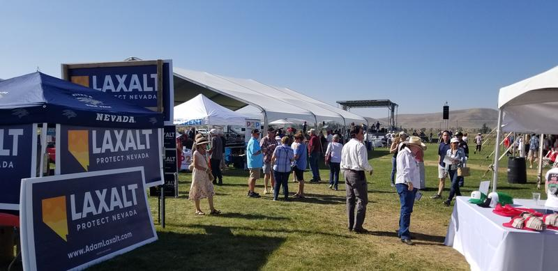 Crowds gather to hear speeches from conservative luminaries from Nevada and across the county.