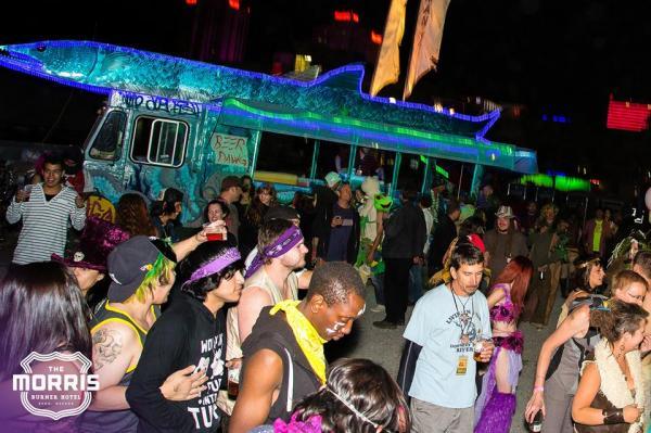 Morris Burner Hotel hosted Monster and Elves Block Party.