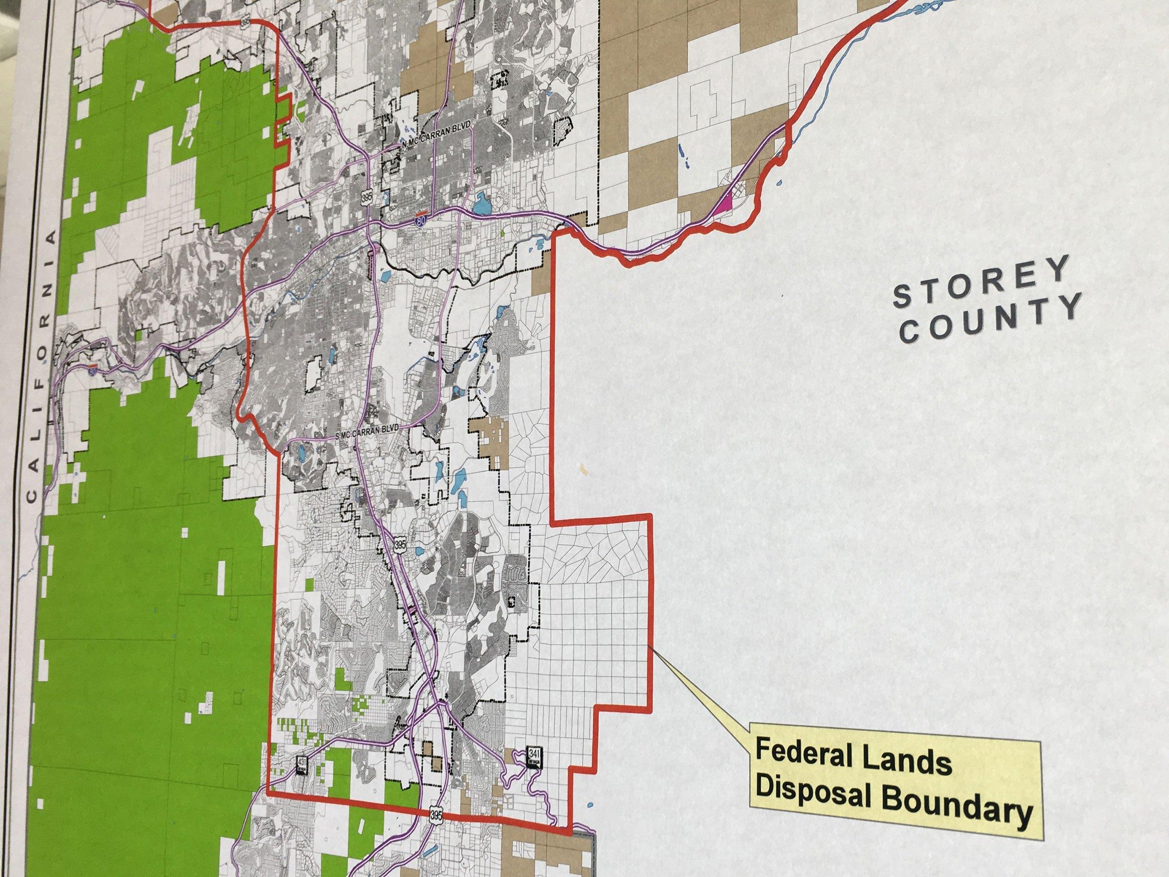 Washoe Residents Raise Concerns Over Federal Lands Bill | KUNR