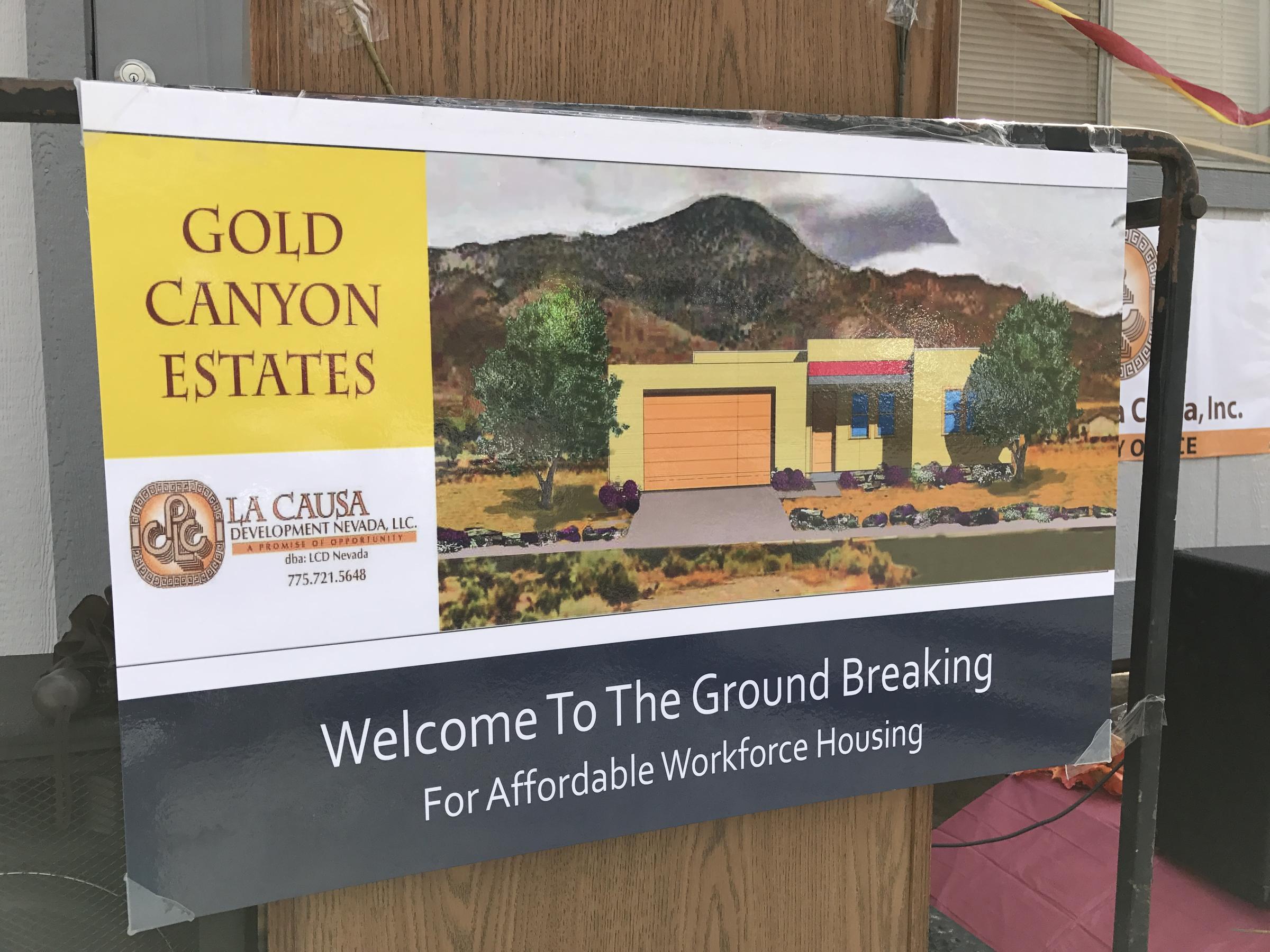 new workforce housing development underway in rural nevada
