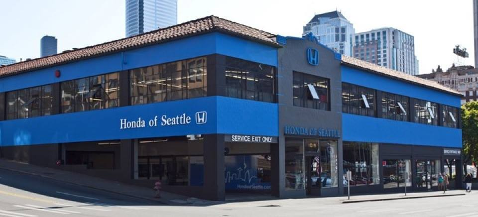 driven south seattle 39 s car dealerships set up auto row in ForHonda Of Seattle