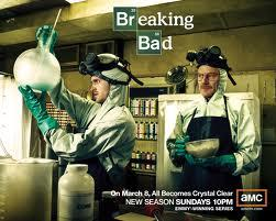 """Breaking Bad"" poster, second season"