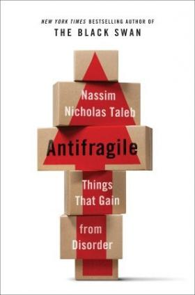 Cover of 'Antifragile' by Nassim Nicholas Taleb