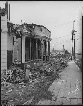 Demolition in 1940