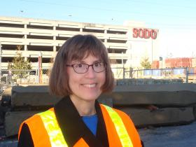 Photo of Aleta Borschowa, WSDOT Project Engineer