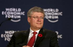 Prime minister Stephen Harper