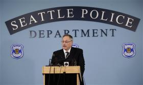 Seattle Police Chief John Diaz