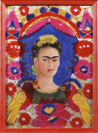 Self Portrait by Frida Kahlo