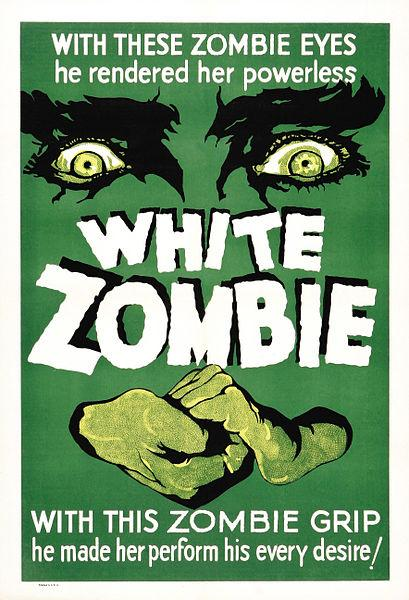 """White Zombie"" movie poster"