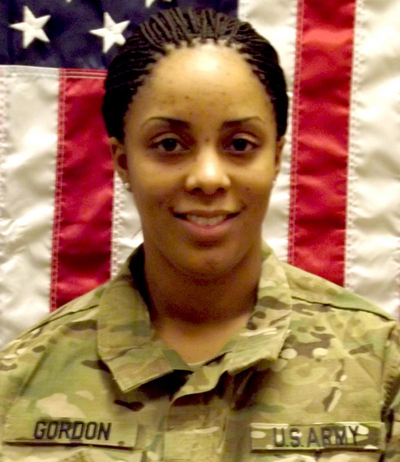 Army Spc. Brittany Gordon