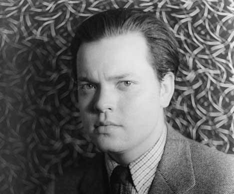 """War of the Worlds"" director and narrator, Orson Welles, 1937."