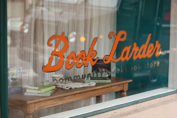 The end result of Lara Hamilton's decision to quit her job: Book Larder in Fremont.