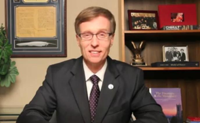 A Screenshot Of Republican Rob McKenna From His Facebook Video Announcing His Concession