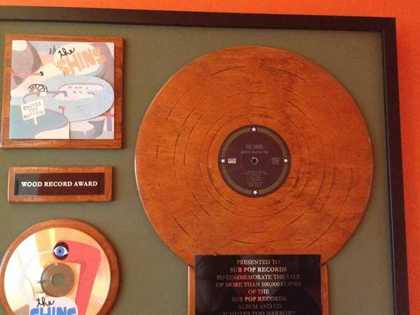 One of Sub Pops now extinct Wooden Records