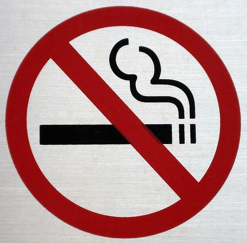 No-smoking sign.