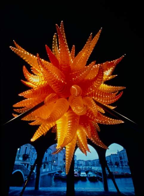 """Chihuly Over Venice,"" 1996."