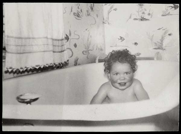 Chihuly as a child, 1942.