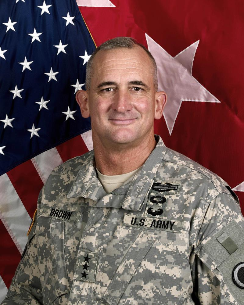 Lt. Gen. Robert Brown, I Corps commander